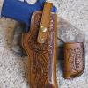 Tooled 1911 Field Holster and Mag. For M.P. in Utah.